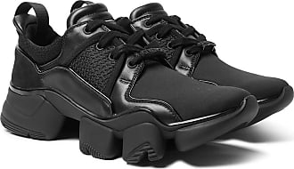 8dd507c1840 Givenchy Jaw Neoprene, Suede, Leather And Mesh Sneakers - Black