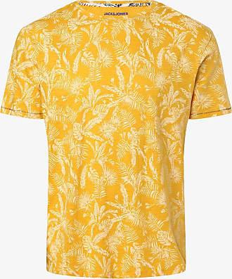 Jack & Jones Herren T-Shirt - JORElron - Große Größen gelb