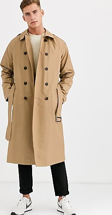 River Island Trenchcoat in Bronze
