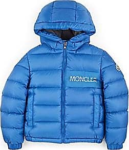 e60c131313ab Moncler Kids Down-Quilted Hooded Coat - Blue Size 6 YRS