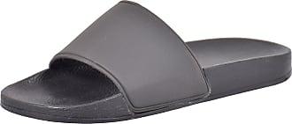 Urban Jacks Ladies Henley Slippers Black 6
