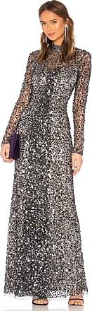 Parker Leandra Dress in Metallic Silver
