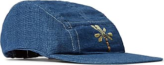 Story mfg. Embroidered Organic Cotton Baseball Cap - Blue