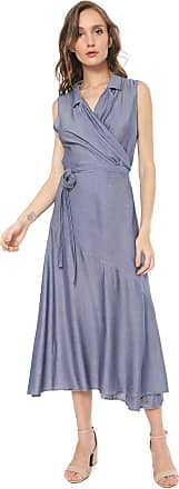Nem Vestido Nem Midi Daniela Azul