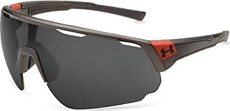 00960728ab6 Under Armour Change Up Polarized Wrap Sunglasses UA CHANGEUP SATIN CARBON RED  FRAME GRAY