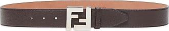 Fendi FF buckle belt - Brown