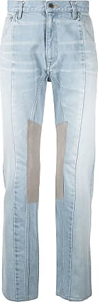 Facetasm Calça jeans reta - Azul