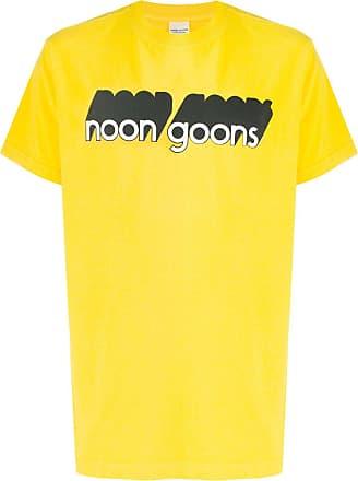Noon Goons Camiseta com estampa de logo - Amarelo