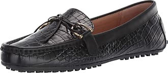 Lauren Ralph Lauren Lauren by Ralph Lauren Womens Briley II Driving Style Loafer, Black/Black, 3 UK