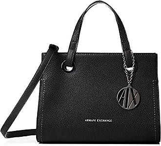 Armani Small Shopping Bag, Cabas femme, Noir (Black), 20x13x26 cm ( 1467c7bb30a