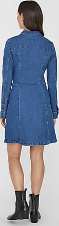 Noisy May Kleid blue denim