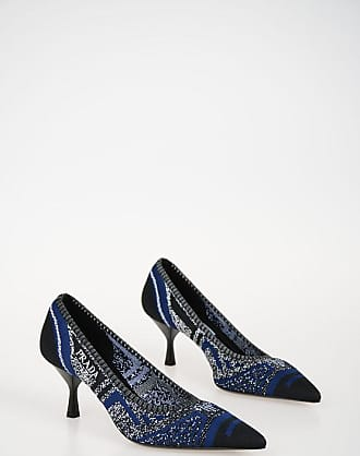 Prada Knitted Fabric Pumps 6 cm size 36