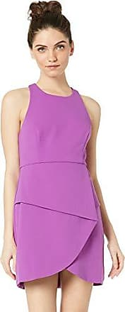Bcbgmaxazria BCBGMax Azria Womens Ely Lace-Up Halter Dress, Iris, 4