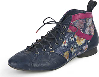 Think Guad lace-up ankle boots Think! blue