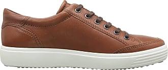 Ecco Mens Soft 7 Sneaker, Cognac, 11-11.5
