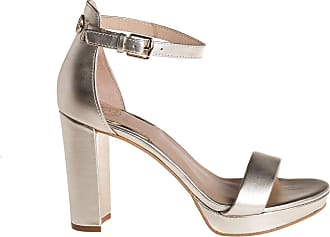 Guess sandalo tacco Omere, 35 / platino