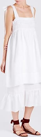 Three Graces London Marianne Dress in White
