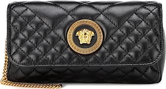 Versace Quilted Medusa leather shoulder bag