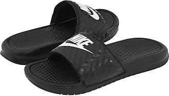 d52fa77ee25e Nike Benassi JDI Slide (Black White) Womens Sandals
