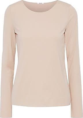 Wolford Wolford Woman Stretch-modal Jersey Top Neutral Size S