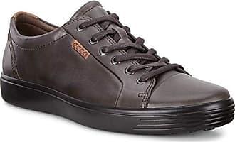 Ecco Herren Soft 7 Men's Sneaker, Braun (Licorice 2507), 44