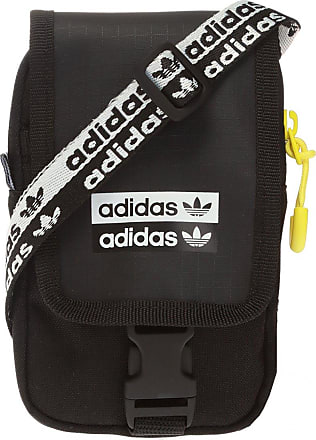 adidas Logo Shoulder Bag Womens Black