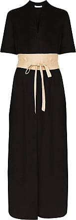 USISI SISTER Tosca belted dress - Preto