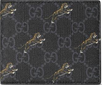 Gucci Portafoglio GG con stampa tigri