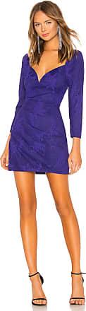 X by NBD Bruna Mini Dress in Purple
