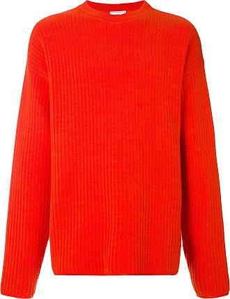 Ami Suéter oversized decote careca - Vermelho