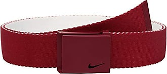 7532e1881d Nike Essentials Reversible Web (Varsity Red/White) Mens Belts