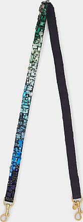 Anya Hindmarch Jewelled Thin Shoulder Strap in Black