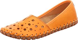 Gemini 031223-02 Womens Slip On, Size:6.5 UK, Colour:Orange
