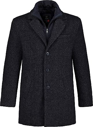 JP1880 Mens Big & Tall Wool Coat Blue Denim XXXXXXX-Large 723369 92-7XL