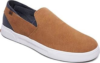 Quiksilver Surf Check Premium - Slip-On Shoes - Men - EU 40 - Brown