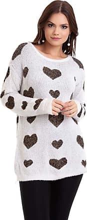 Kinara Suéter Pelinho Coração-G