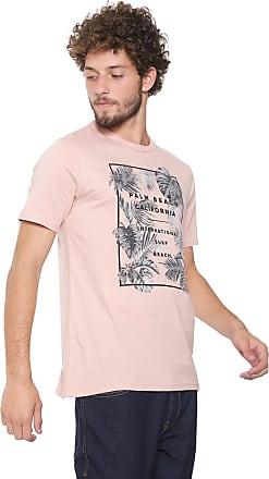 Malwee Camiseta Malwee Palm Beach Rosa