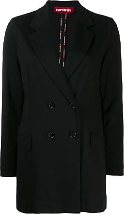 Guardaroba Jaqueta de alfaiataria com abotoamento duplo - Preto