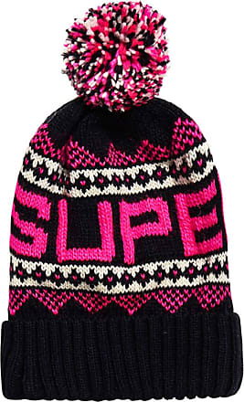 Superdry Stockholm a Costine Beanie Navy Blue 11S