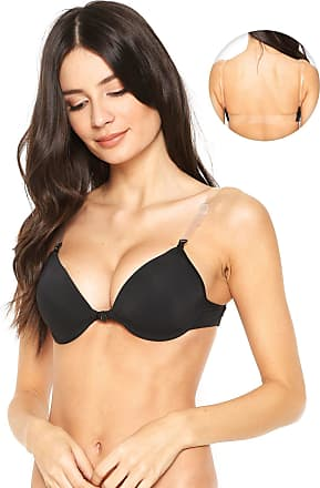 Dilady Sutiã Dilady Push Up Nude Back Preto
