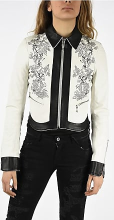 Just Cavalli Leather Jacket with Studs size 38