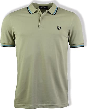 Fred Perry Twin Tipped Polo Shirt Light Salbei - medium