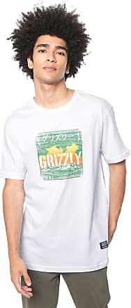 Grizzly Camiseta Grizzly Eastern Mountains Branca