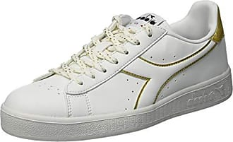Game Diadora P de Oro EU WNChaussures Vivo AdulteMulticoloreBianco Mixte C325041 Ottico Gymnastique 3LS4AqRcj5
