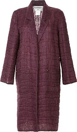 Chanel long sleeve coat jacket - Pink
