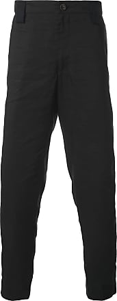 Ziggy Chen side stripe trousers - Black