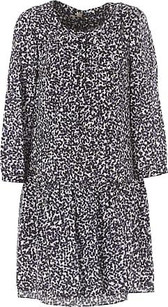 Burberry Robe Femme Pas cher en Soldes Outlet, Noir, Soie, 2017, 36 d36c81969ef