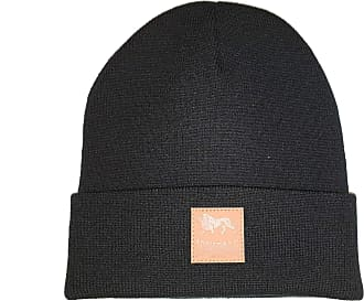 Lonsdale Unisex Knitted Hat Taynton, Color:black, Size:one size