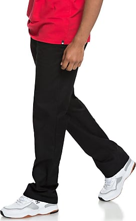 DC Mens Worker Relaxed Pants, Black, 33