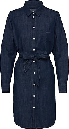 Jacqueline de Yong Shirt dress Esra blue denim